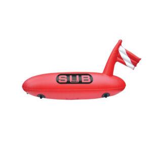 Σημαδούρα δύτη μακρόστενη ''Safe Dive'' διάμ. 28Cm μήκος 88Cm