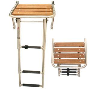 Πλατφόρμα με πτυσσόμενη σκάλα
