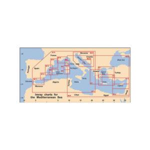 Πλοηγικός Χάρτης Δυτικής Μεσογείου M10